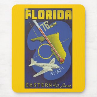 Florida ~ Fly South Mouse Pad