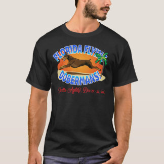 Florida Flying Dobermans Red Dobe T-Shirt