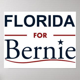 Florida for Bernie Poster