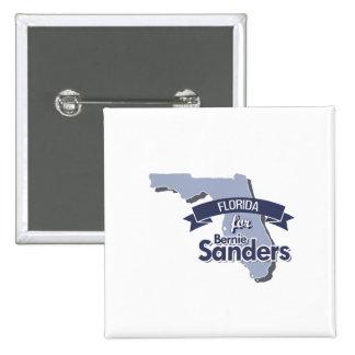 Florida for Bernie Sanders 2 Inch Square Button