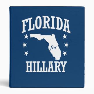FLORIDA FOR HILLARY VINYL BINDER