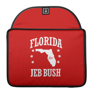 FLORIDA FOR JEB BUSH SLEEVE FOR MacBook PRO