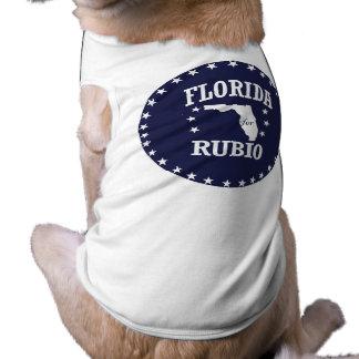 FLORIDA FOR RUBIO DOG TEE SHIRT