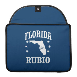 FLORIDA FOR RUBIO MacBook PRO SLEEVES