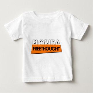Florida Freethought (on white) Baby T-Shirt