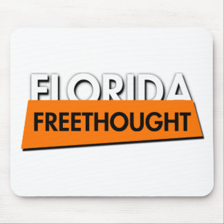 Florida Freethought (on white) Mouse Pad