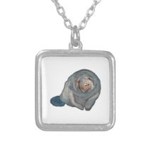 Florida Friendly Silver Plated Necklace