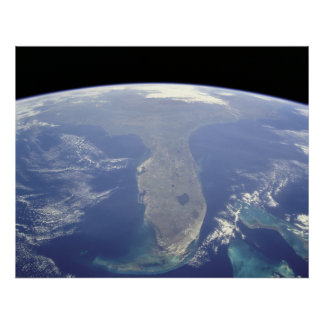 Florida from Space Canvas Print