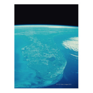 Florida from Space Postcard