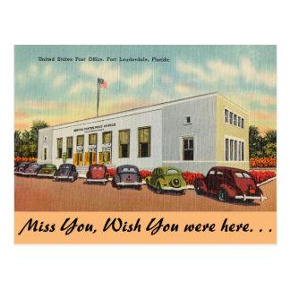 Florida, Ft. Lauderdale, Post Office Postcards