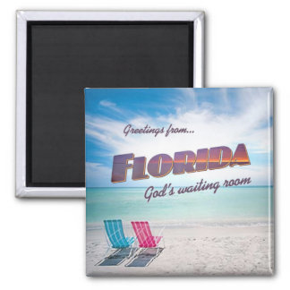Florida funny fridge magnet