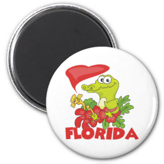 Florida Gator 2 Inch Round Magnet