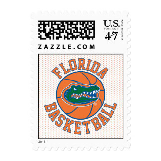 Florida Gator Basketball Stamp