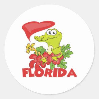 Florida Gator Classic Round Sticker