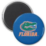 Florida Gator Head 2 Inch Round Magnet