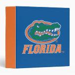 Florida Gator Head 3 Ring Binder