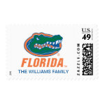 Florida Gator Head 8 Postage Stamp