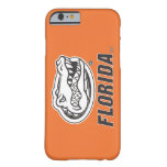Florida Gator Head - Black & White Barely There iPhone 6 Case