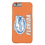 Florida Gator Head - Blue & White Barely There iPhone 6 Case