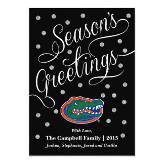 Florida Gator Head Card