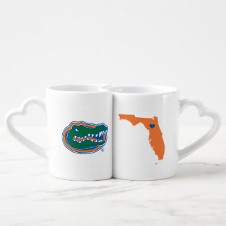 Florida Gator Head Coffee Mug Set