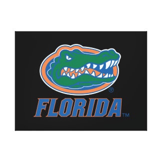 Florida Gator Head - Color Canvas Print