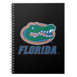 Florida Gator Head - Color Spiral Notebook