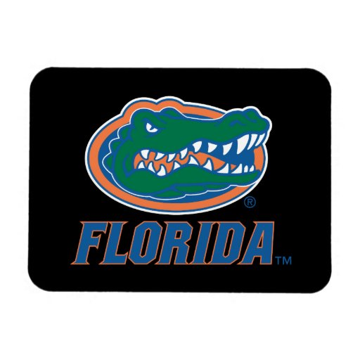 Florida Gator Head - Color Vinyl Magnets