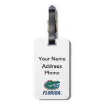 Florida Gator Head Full-Color Bag Tag