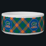"""Florida Gator Head Full-Color Bowl<br><div class=""""desc"""">Check out this full-color Florida Gator Head icon with Florida in orange. Zazzle offers the most exciting and unique gear for the ultimate Florida Gator fan! All of our products are officially licensed and customizable, which makes them perfect for students, alumni, family, fans, and faculty. Whether you are gearing up...</div>"""