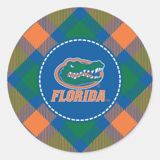 Florida Gator Head Full-Color Classic Round Sticker