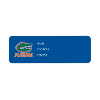 Florida Gator Head Full-Color Label