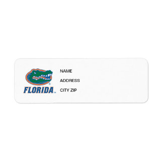 Florida Gator Head Full-Color Label
