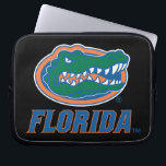 """Florida Gator Head Full-Color Laptop Sleeve<br><div class=""""desc"""">Check out this full-color Florida Gator Head icon with Florida in blue. Zazzle offers the most exciting and unique gear for the ultimate Florida Gator fan! All of our products are officially licensed and customizable, which makes them perfect for students, alumni, family, fans, and faculty. Whether you are gearing up...</div>"""