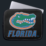 "Florida Gator Head Full-Color Laptop Sleeve<br><div class=""desc"">Check out this full-color Florida Gator Head icon with Florida in blue. Zazzle offers the most exciting and unique gear for the ultimate Florida Gator fan! All of our products are officially licensed and customizable, which makes them perfect for students, alumni, family, fans, and faculty. Whether you are gearing up...</div>"
