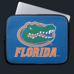 "Florida Gator Head Full-Color Laptop Sleeve<br><div class=""desc"">Check out this full-color Florida Gator Head icon with Florida in orange. Zazzle offers the most exciting and unique gear for the ultimate Florida Gator fan! All of our products are officially licensed and customizable, which makes them perfect for students, alumni, family, fans, and faculty. Whether you are gearing up...</div>"