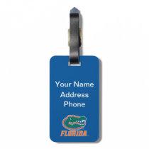 Florida Gator Head Full-Color Luggage Tag