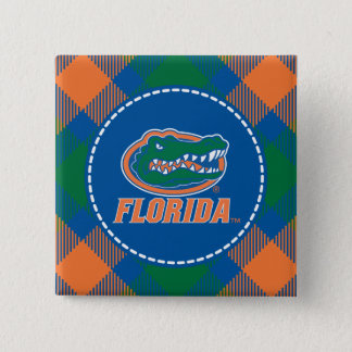 Florida Gator Head Full-Color Pinback Button