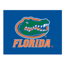 Florida Gator Head Full-Color Postcard