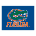 Florida Gator Head Full-Color Poster