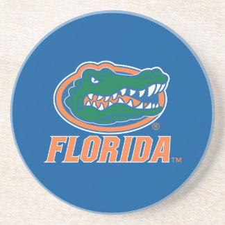 Florida Gator Head Full-Color Sandstone Coaster