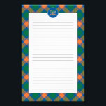 """Florida Gator Head Full-Color Stationery<br><div class=""""desc"""">Check out this full-color Florida Gator Head icon with Florida in orange. Zazzle offers the most exciting and unique gear for the ultimate Florida Gator fan! All of our products are officially licensed and customizable, which makes them perfect for students, alumni, family, fans, and faculty. Whether you are gearing up...</div>"""