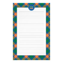 Florida Gator Head Full-Color Stationery