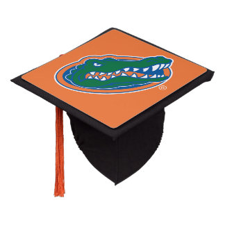 Florida Gator Head Graduation Cap Topper