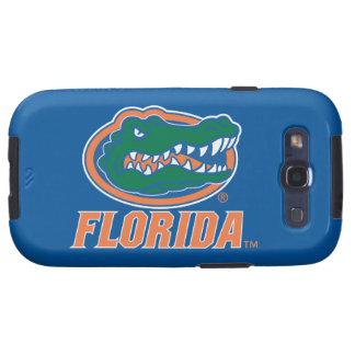Florida Gator Head - Orange & White Galaxy S3 Case