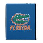 Florida Gator Head - Orange & White iPad Folio Cases