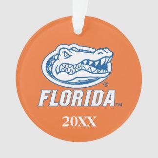 Florida Gator Head Ornament