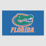 Florida Gator Head Rectangular Sticker