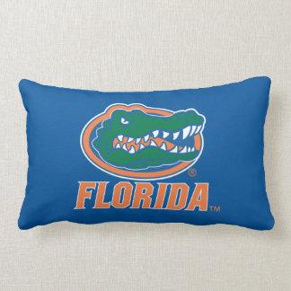 Florida Gator Head Throw Pillow