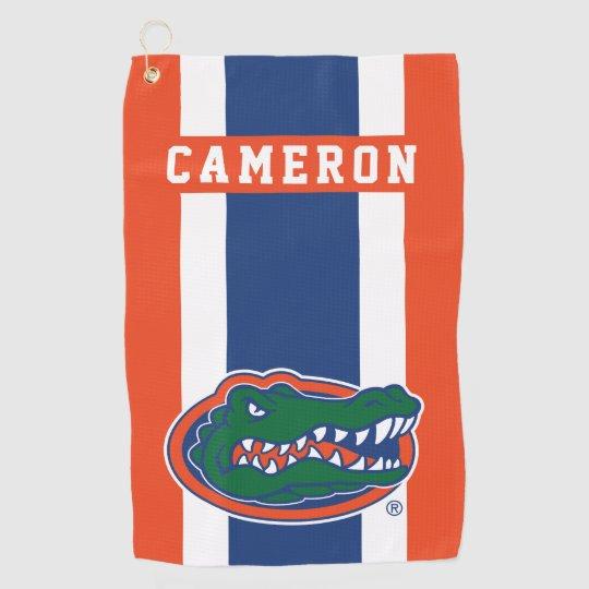 Florida Gators Add Your Name Golf Towel